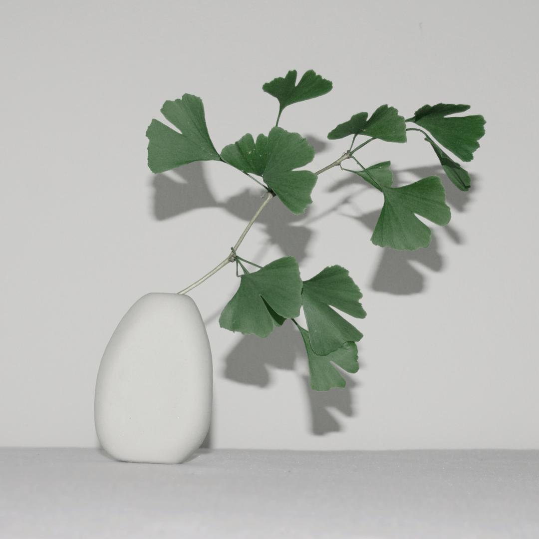 Vase aus Porzellan